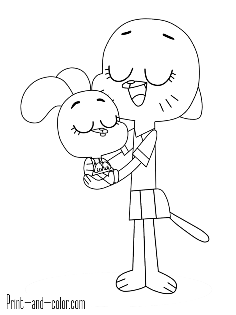 Anais Watterson And Nicole Watterson In 2020 Gumball The Amazing World Of Gumball World Of Gumball