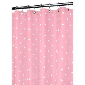 Watershed Classic Polka Dot Shower Curtain In Light Punch White