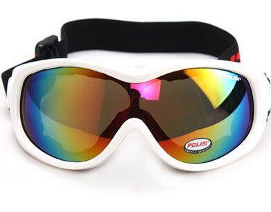 f738b52fa0a9 Free Shipping! POLISI P-305-WH Snowboard Motorcycle Ski Goggles Winter Sled  Skate Kids Sunglasses Dirt Bike Glasses