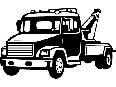 tow truck clip art tow truck royalty free images photos and st rh pinterest com tow truck clipart black and white tow truck clip art free