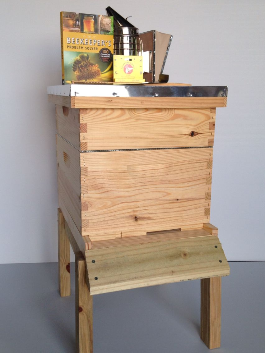 Complete 2 Story Kit with tools! Hive stand sold separately. Fully assembled $180.00