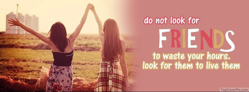 Latest Friendship Quotes On Pictures Cover Photos | Facebook ...