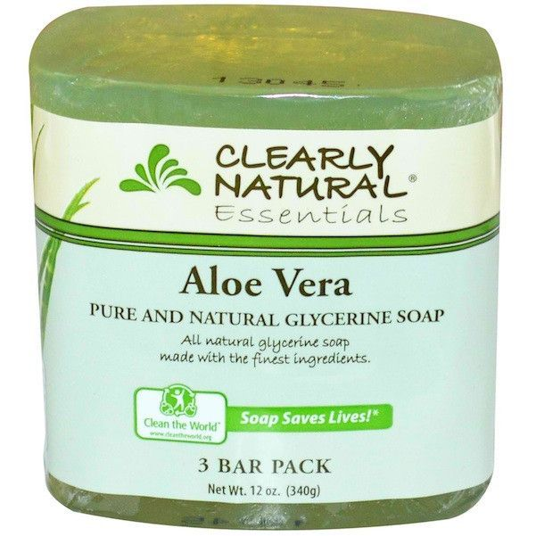 Clearly Natural Gly Sp Aloe Vera 3Pk (8x3Pack )