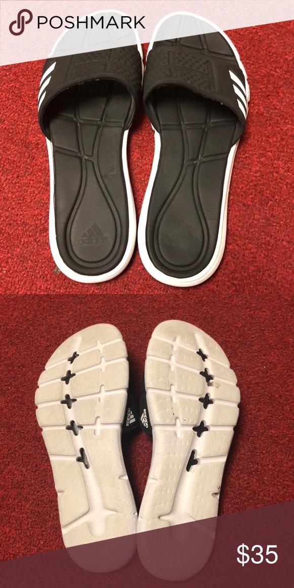 df1f9cc992b421 Adidas Adipure Cloudfoam slides (Barely worn) Designed to maximise on post  training comfort and