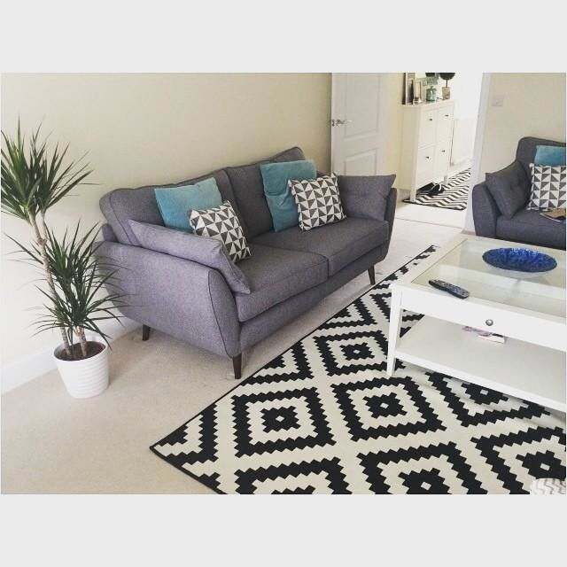 Home Style - Charcoal Sofa