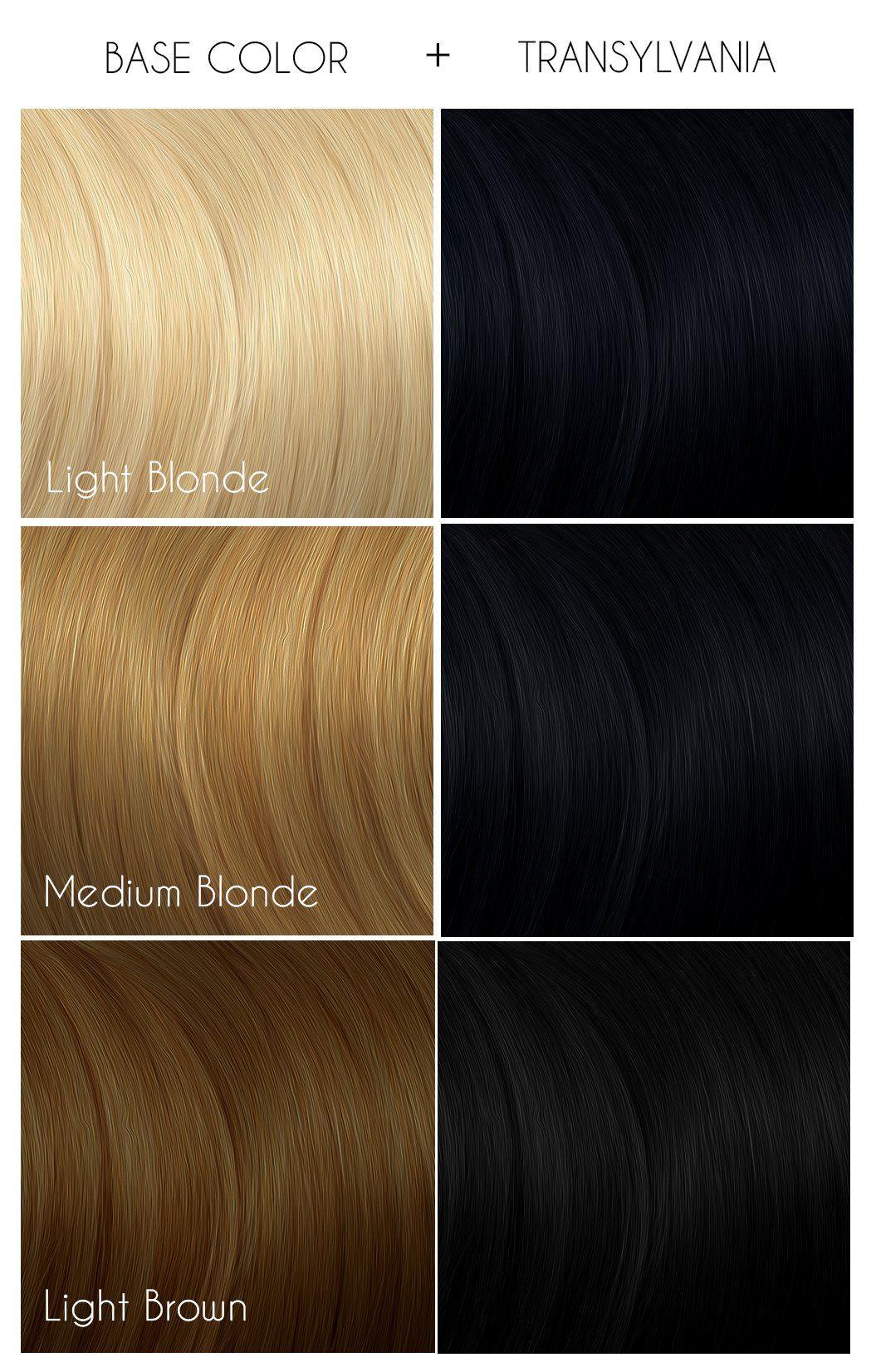 Transylvania Arctic Fox Hair Color Arctic Fox Hair Dye Fox Hair Dye