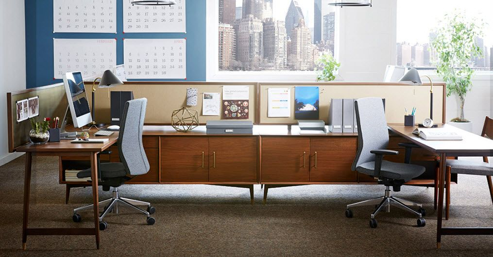 west elm workspace with inscape west elm workspace bench collection casegoods editor 39 s choice. Black Bedroom Furniture Sets. Home Design Ideas