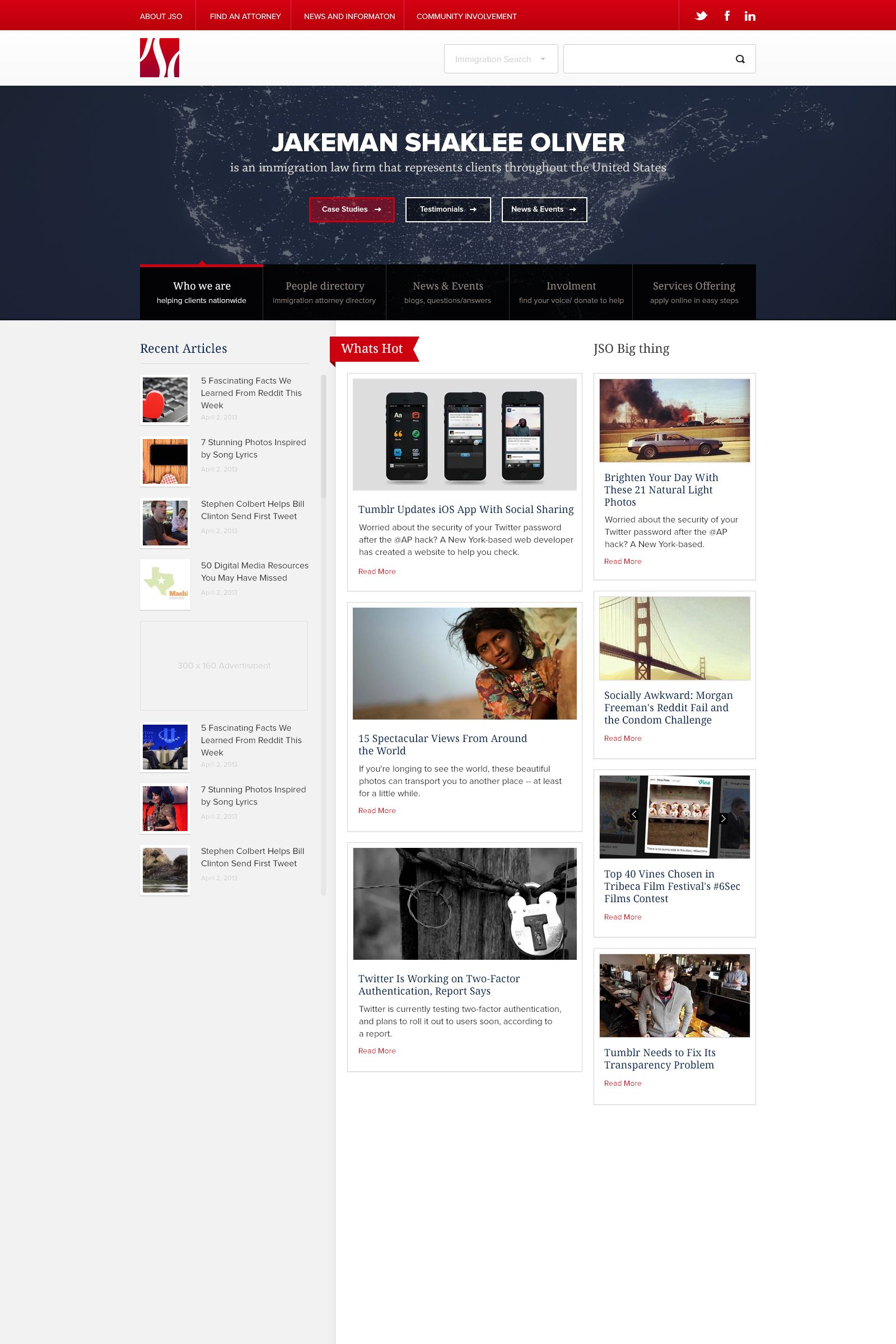 Homepage 3 Web Design Homepage Social Challenges
