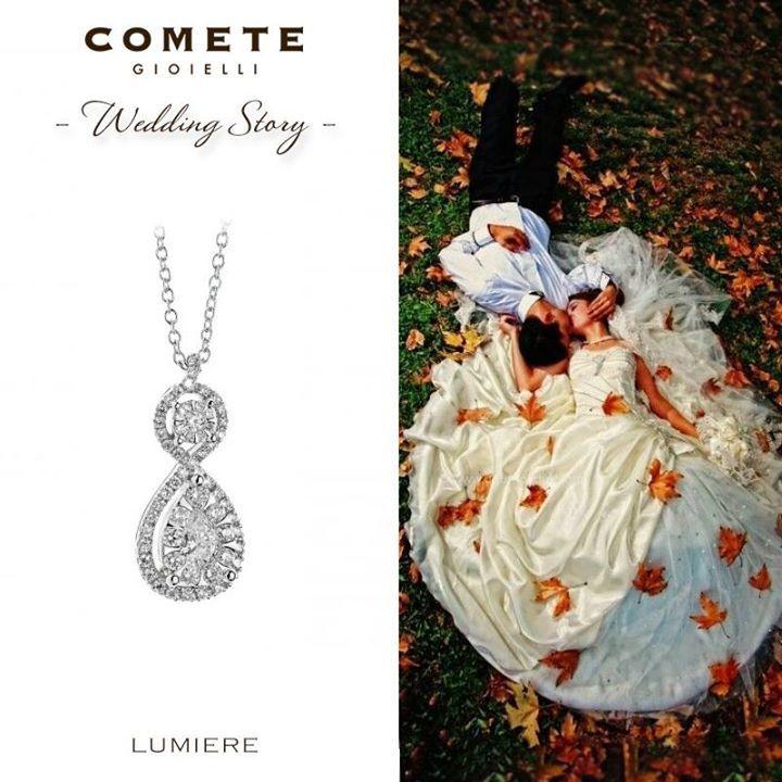 #Collana Comete #Wedding Story #Collana Matrimonio