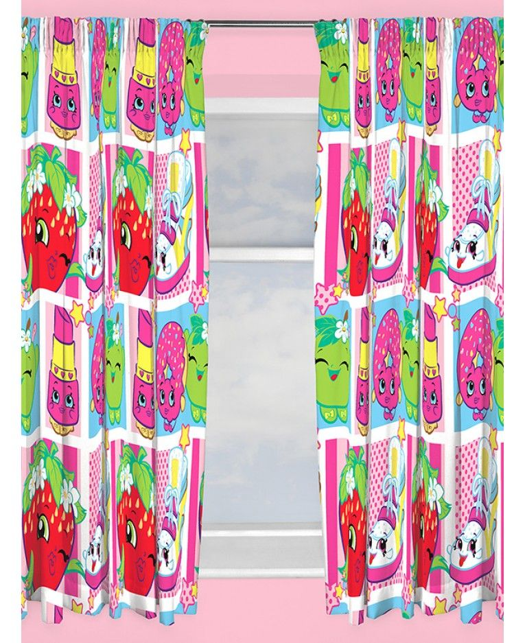 These Shopkins Shopaholic Curtains Are Ideal For Finishing Off A