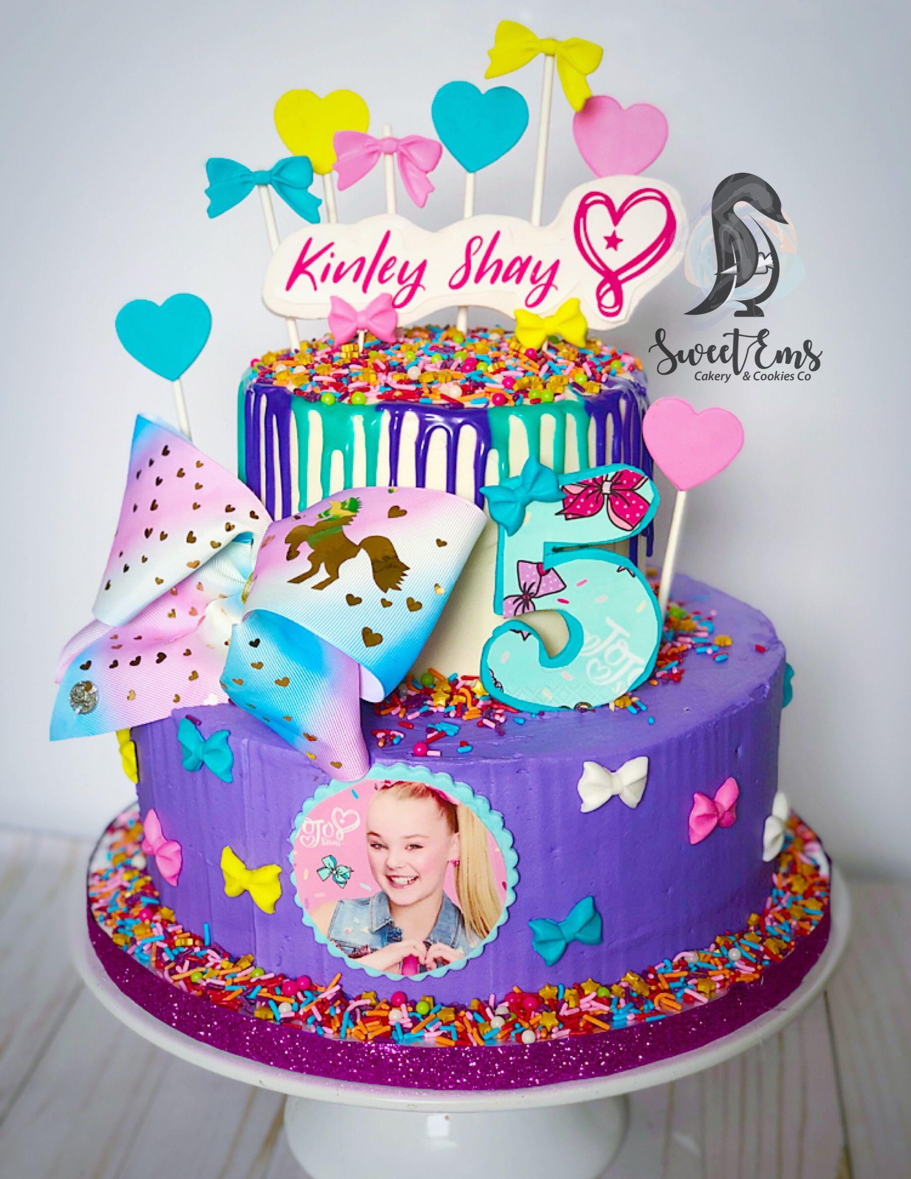 Jojo Siwa Cake Sweetemscakery Jojo Siwa Birthday Cake Jojo