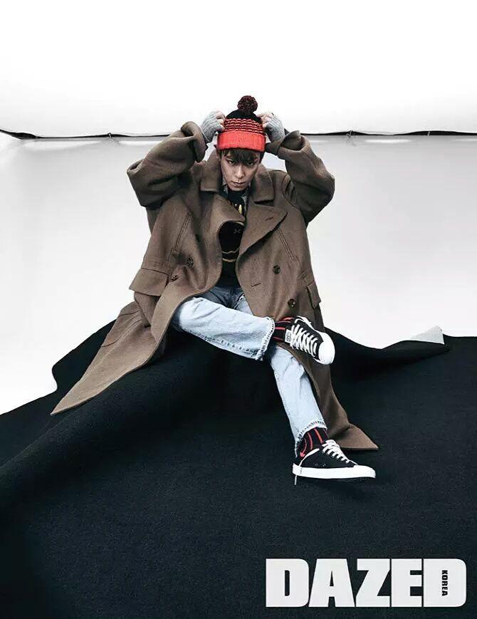 "T.O.P for ""Dazed & Confused: Korea"""
