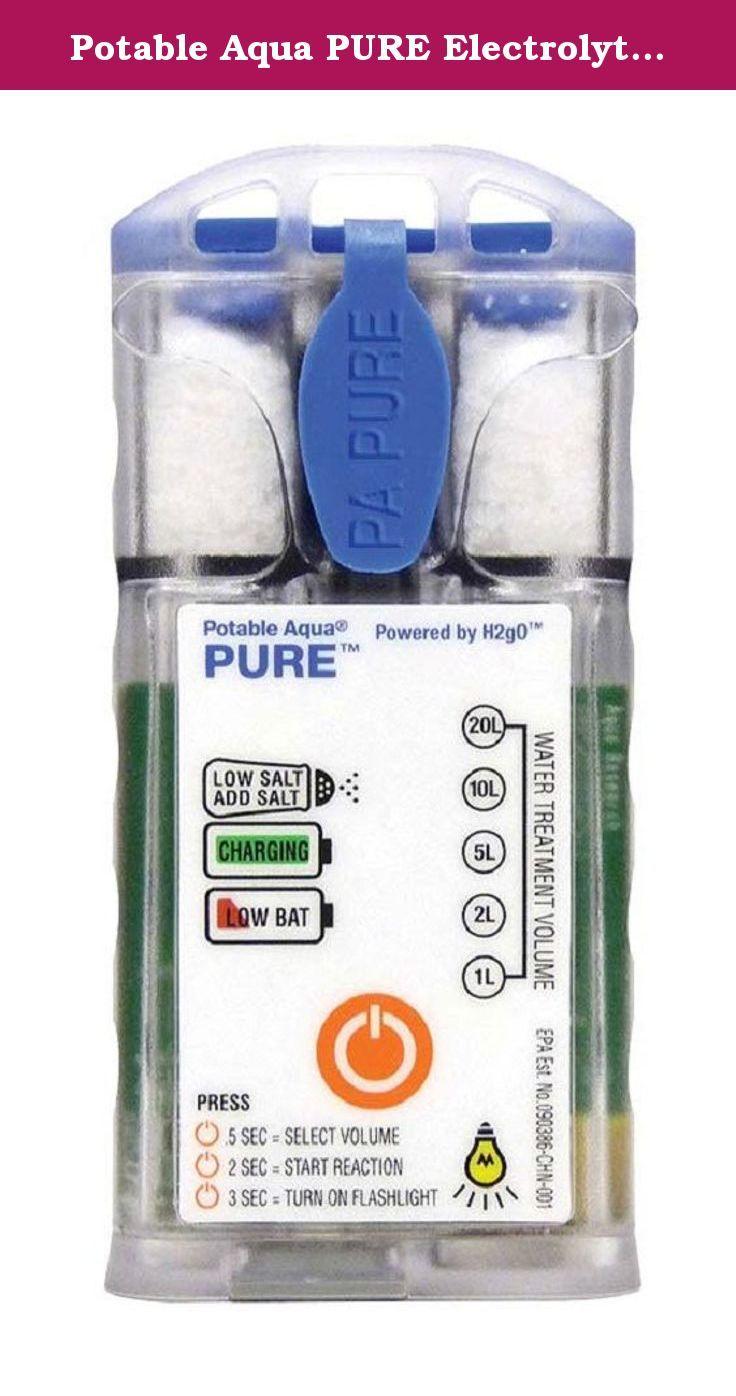 Potable Aqua PURE Electrolytic Water Purifier  Great …   Water