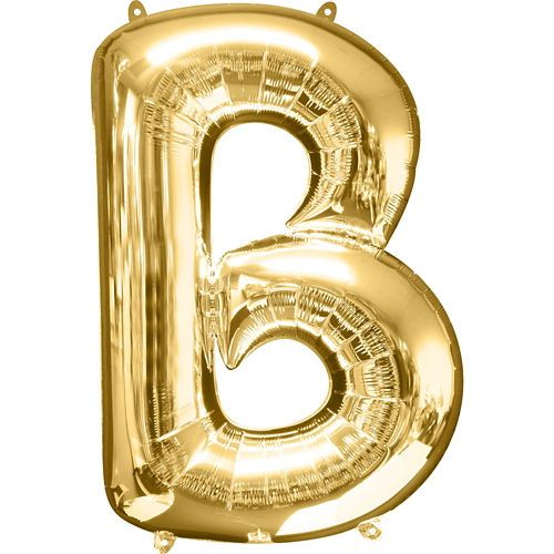 giant gold letter b balloon in 2018 | julie's baby shower