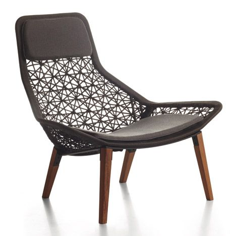 maia rope chair by patricia urquiola for kettal outdoor lounge rh pinterest com Patricia Urquiola Furniture Products patricia urquiola outdoor chair