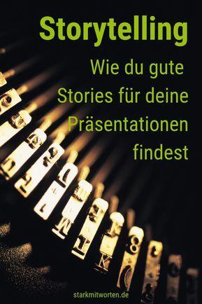 Storytelling Werbung