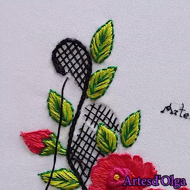 Comment broder le cou avec des roses   – Nakis