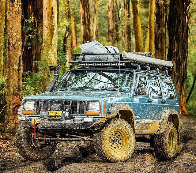 One Beast Of A Jeep Xj From 4wdaction Via Pc4x4store Overland