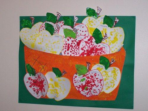 les pommes pommes poires pinterest arts plastiques maternelle petit chaperon rouge et. Black Bedroom Furniture Sets. Home Design Ideas