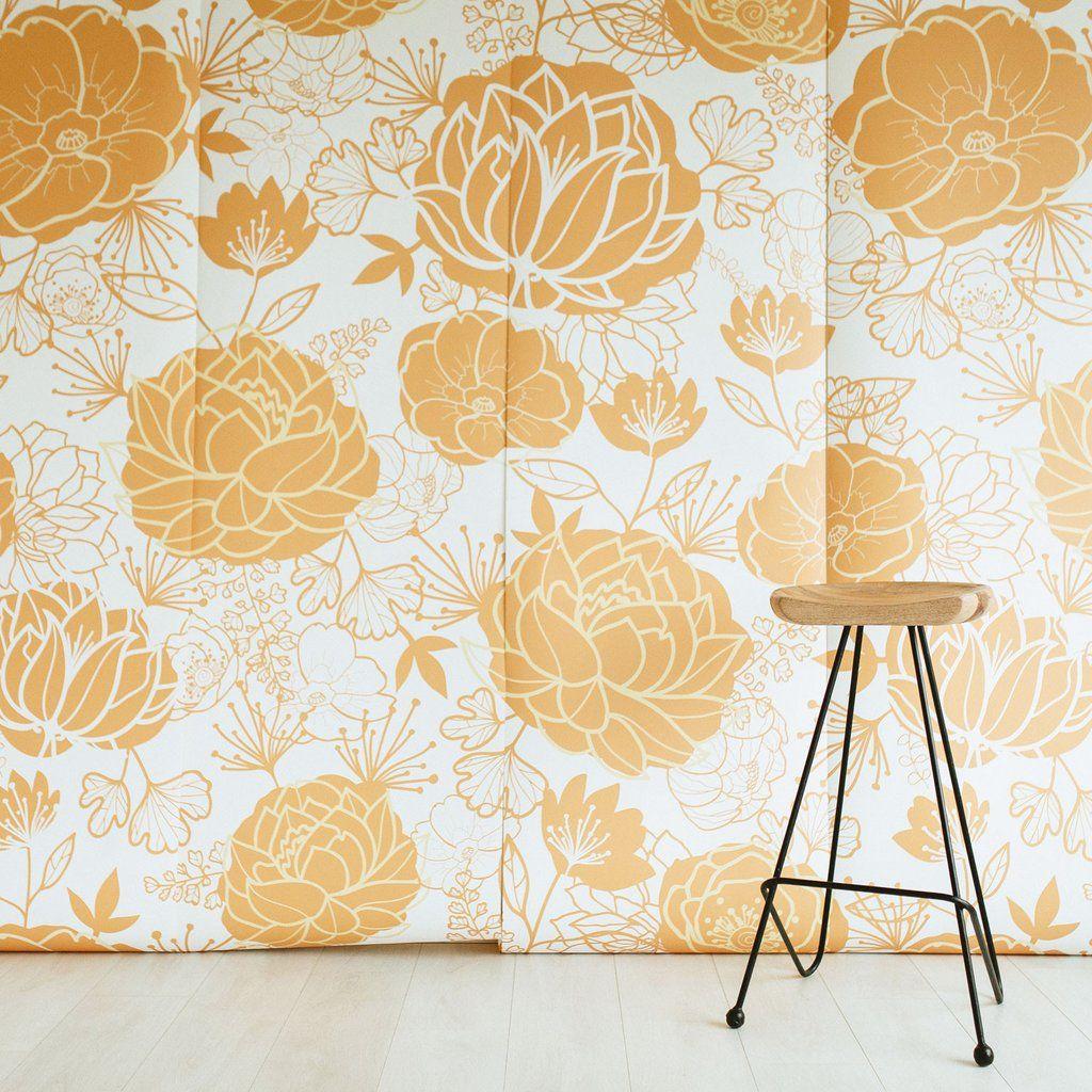 Titian Mural | Floral wallpapers, Wallpaper murals and Wallpaper