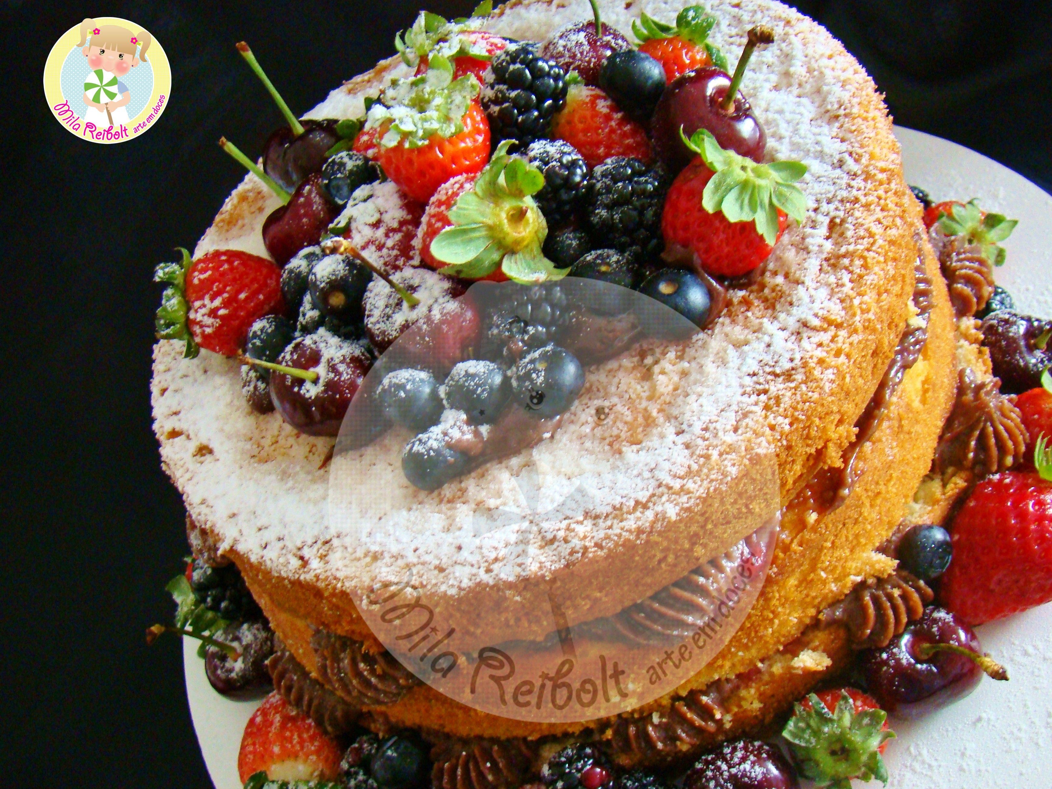 RECEITA: NAKED CAKE - YouTube