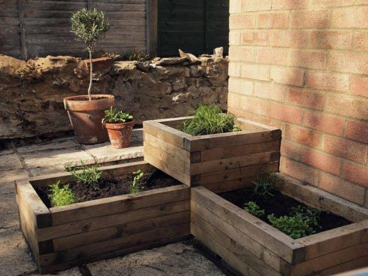 Stacked Tiered Raised Garden Beds; Gardenista