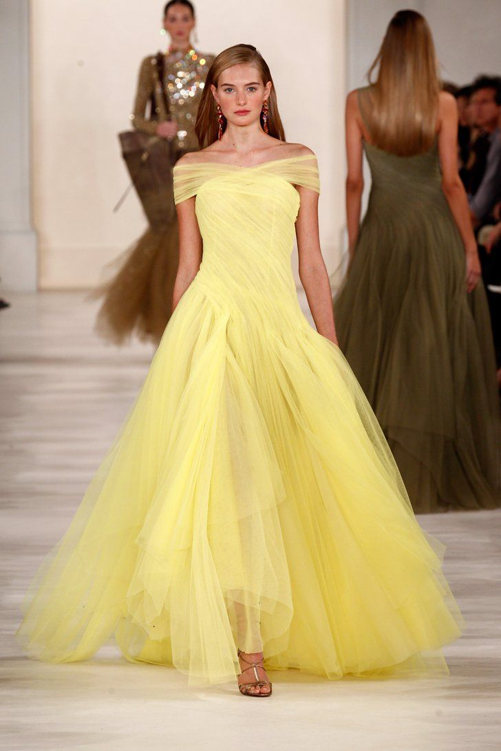 Ralph lauren spring spring beautiful clothes and yellow dress