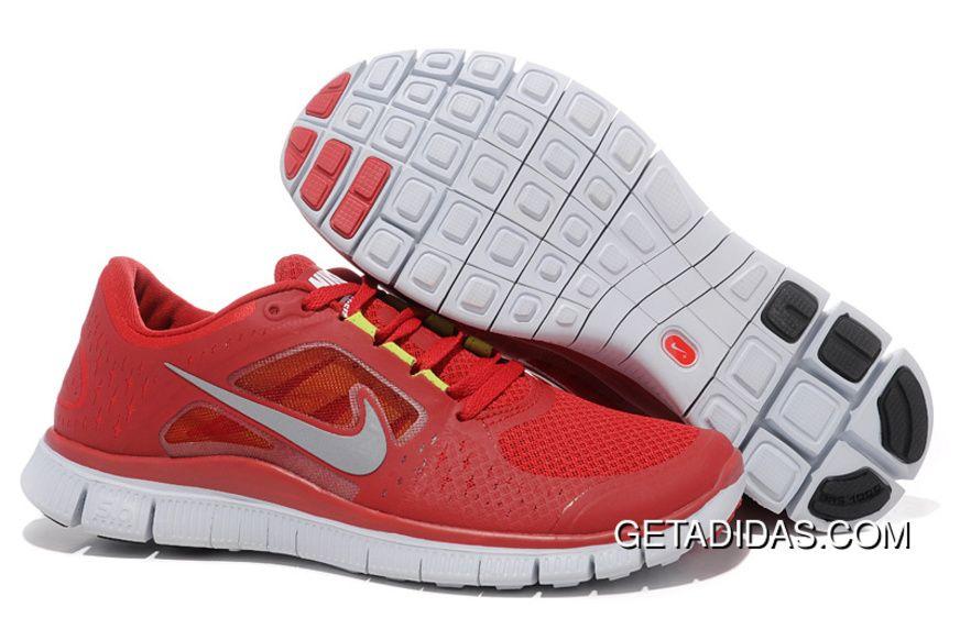 los angeles 4366d 3469d ... new zealand nike free run 3 gym red pure platinum reflective silver  mens topdeals price 66.39