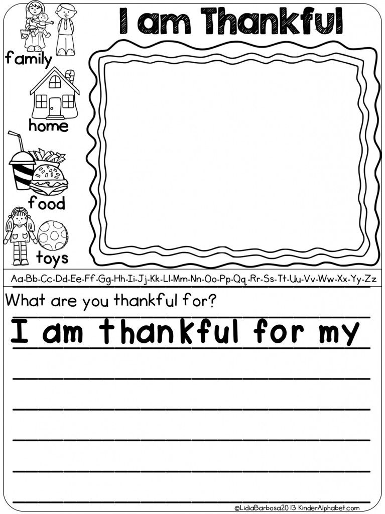 Daily Journal Prompts With A Picture Word Bank Includes 4 Themes For November Differentiate Thanksgiving Kindergarten Thanksgiving Writing Elementary Writing