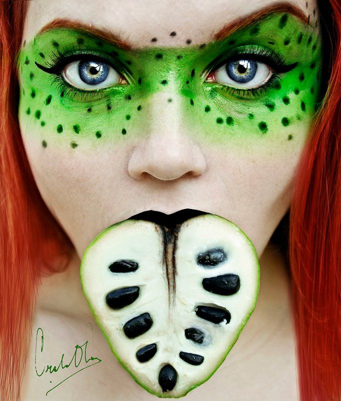Like fruit? You'll love this girl