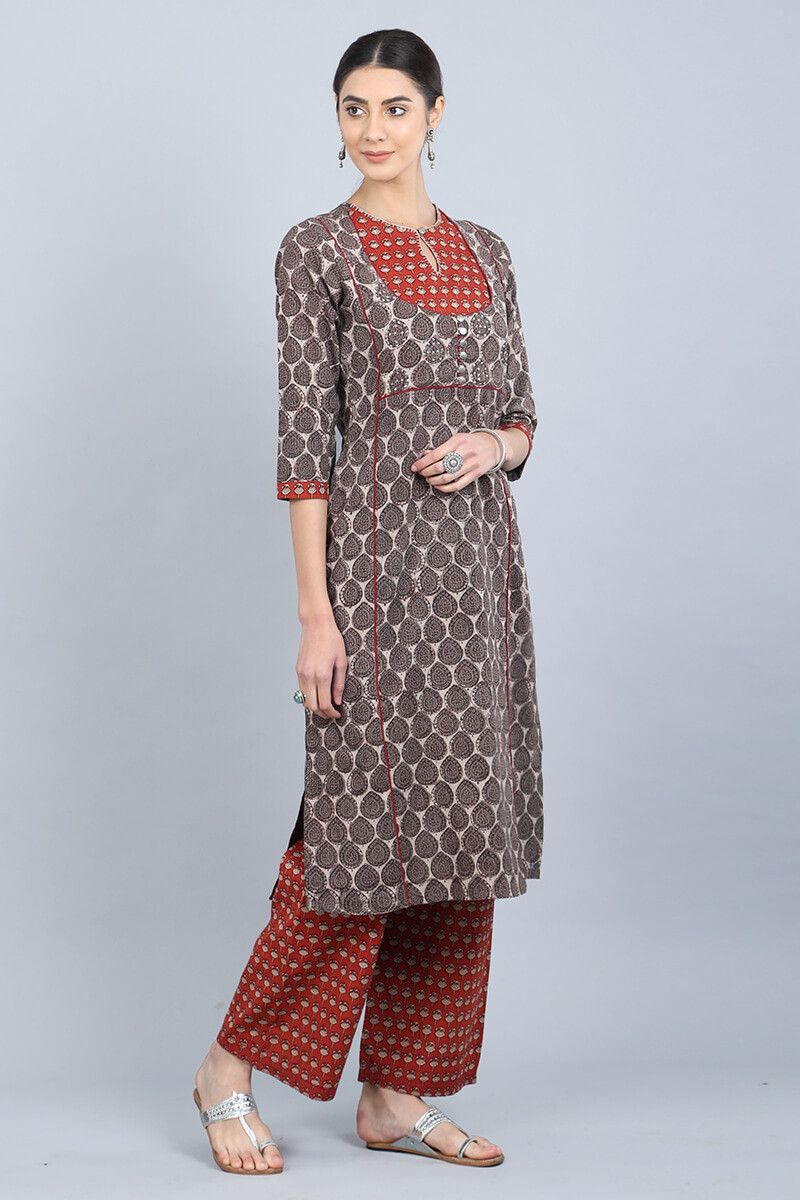 With our latest kantha kurta collection you can stay comfortable