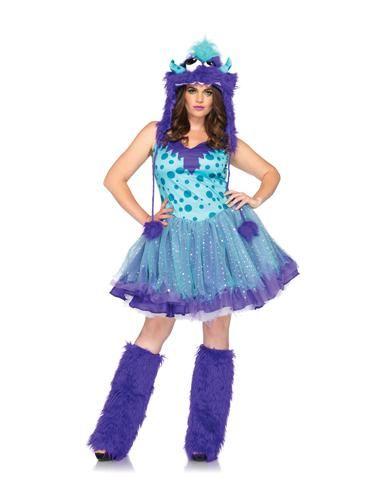 Polka Dotty Monster Adult Womens Plus Size Costume $62.99 - Spirit Halloween  sc 1 st  Pinterest & Polka Dotty Monster Adult Womens Plus Size Costume $62.99 - Spirit ...