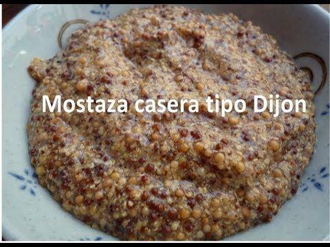 Receta de MOSTAZA francesa (en grano) granulada casera tipo Dijon. - YouTube