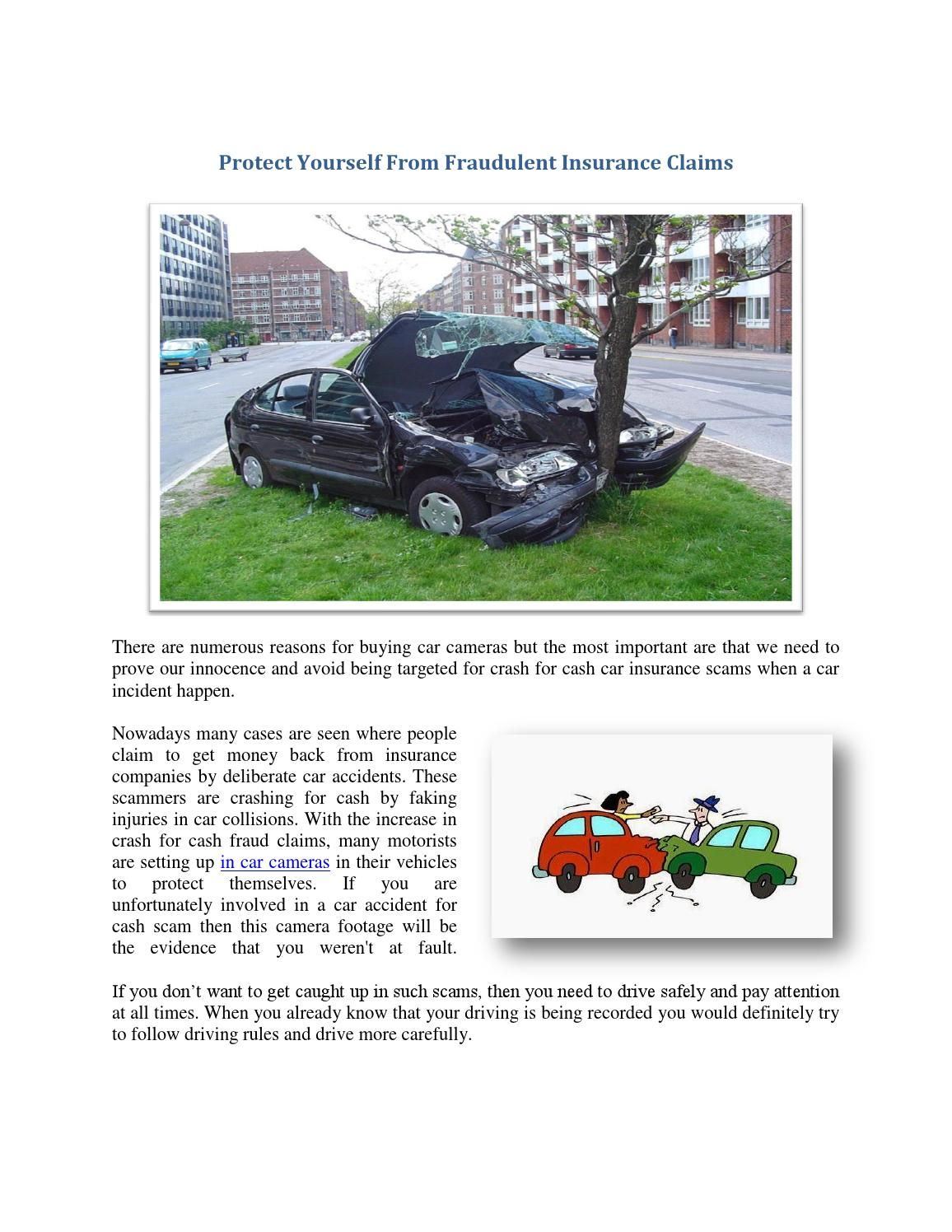 Protect Yourself From Fraudulent Insurance Claims With Images