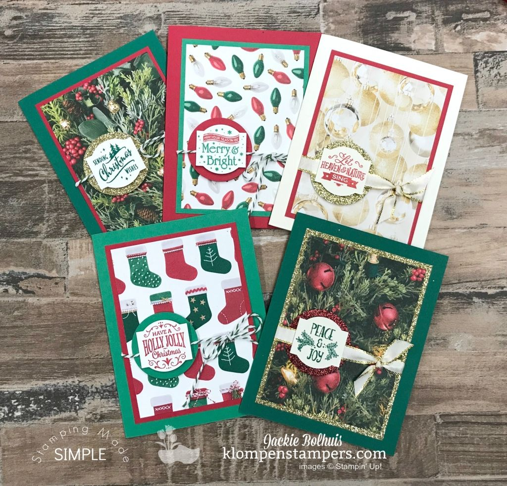 Holiday Cards with Matching Envelopes! Jackie Bolhuis has a video ...