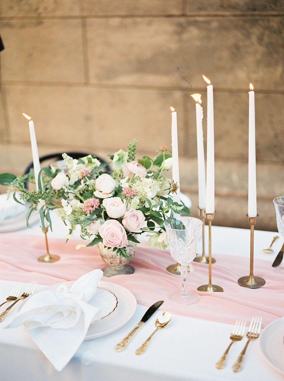 A Morning with Bridesmaids Romantic Blush Pink Wedding