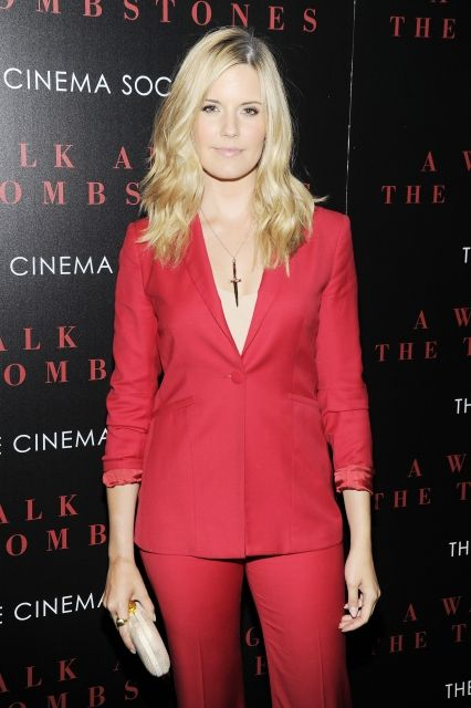 """Maggie Grace at the New York screening of """"A Walk Among The Tombstones"""""""