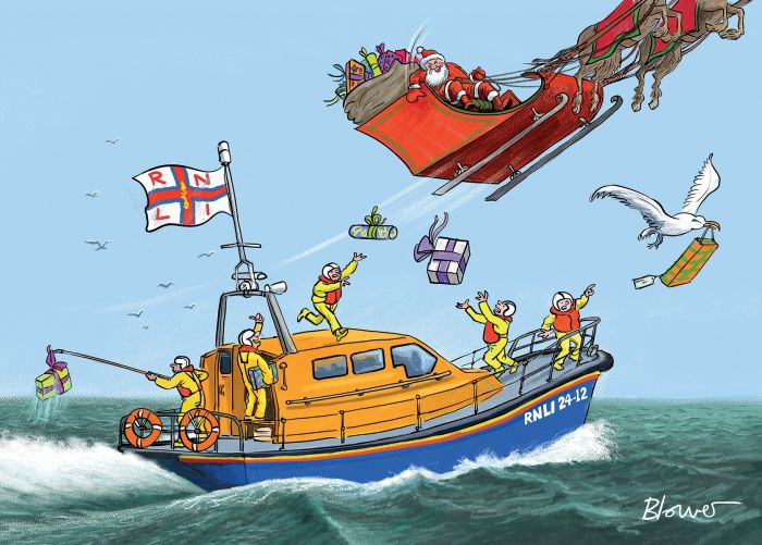 Special Delivery RNLI Charity Christmas Cards в 2020 г