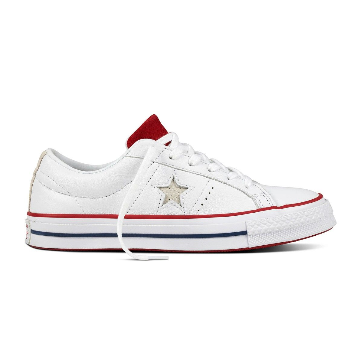 Zapatillas one star new heritage blanco Converse | La