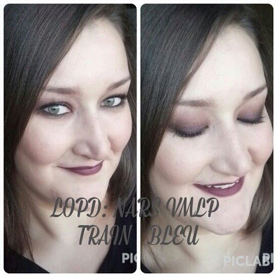 Dark look: ahumado gris y labial vmlp train bleu de nars