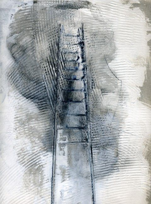 Andrew Davey - ladder drawing #6 2011