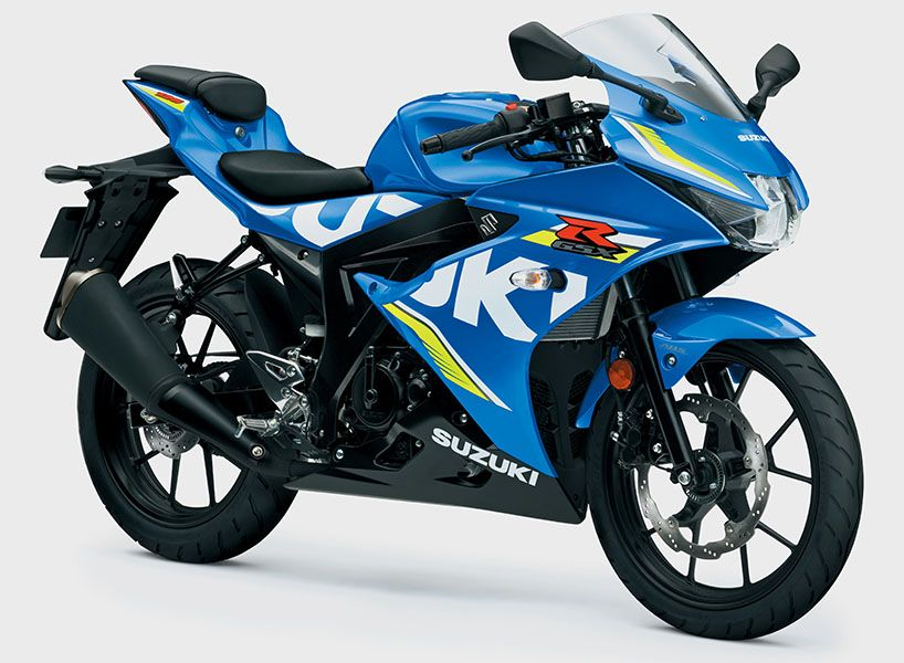 Suzuki Gsx R125 Motorcycle Is Top Of The 125cc Class Suzuki Gsx Suzuki Gsxr Suzuki Motorcycle