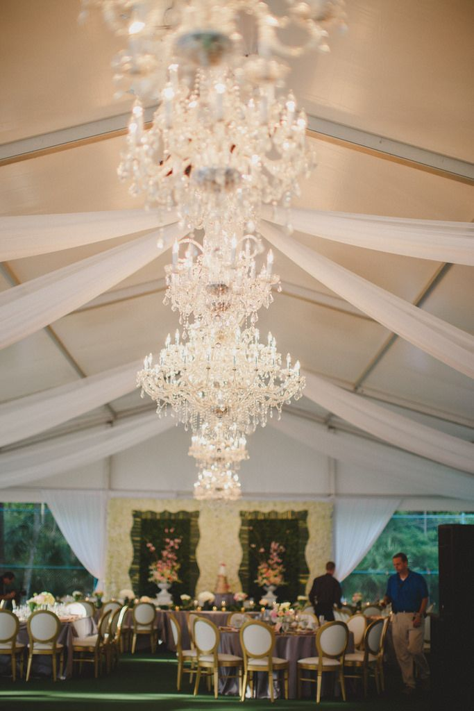 Chandeliers Photo By By The Robinsons Tent Wedding Chandelier