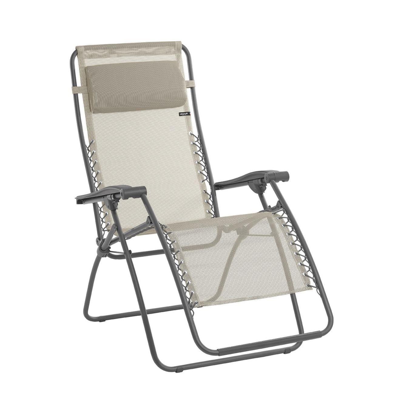 Xtend Angebote Lafuma RSXA Batyline® Relaxliege Grau: Category:  Campingmöbel U003e Campingliegen Item