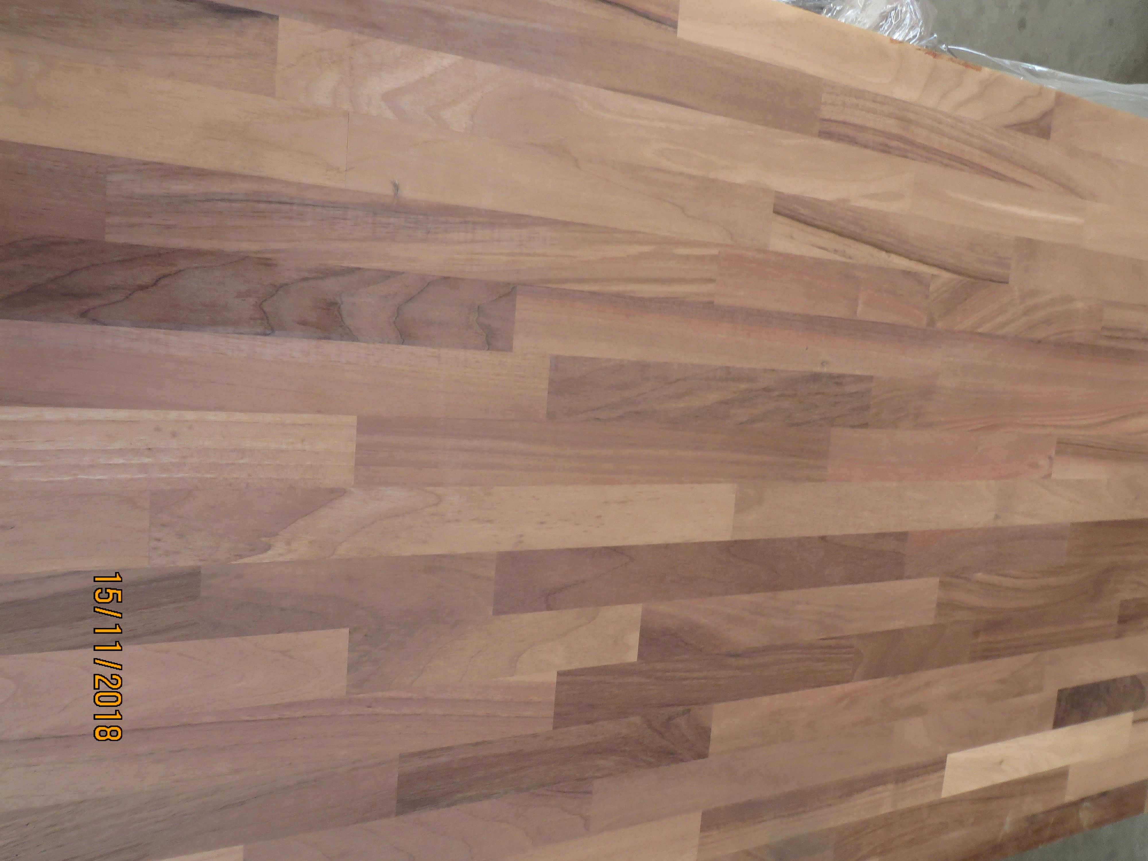 Leimholzplatte Nogal Holz Holzplatte Nussbaum