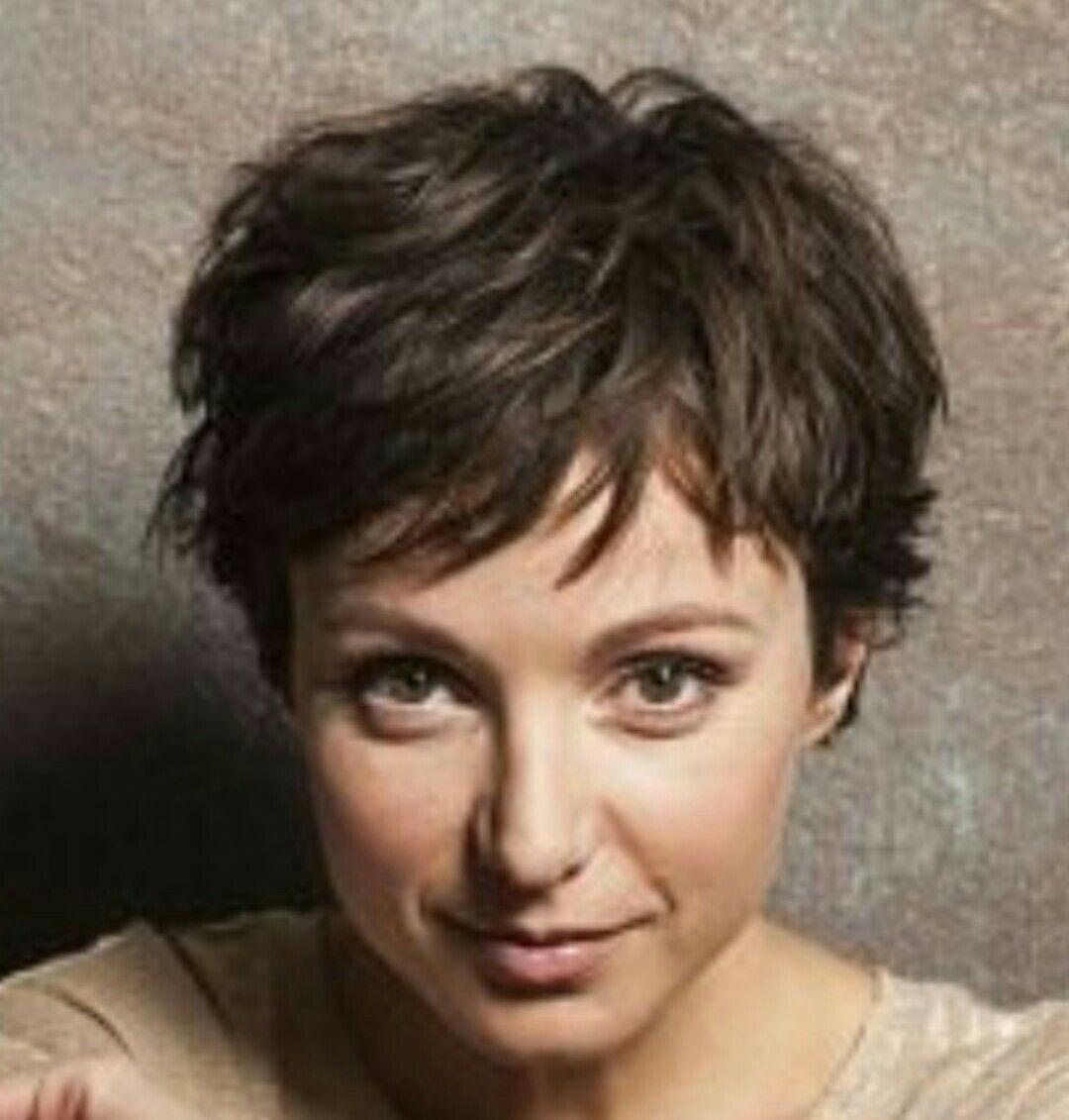 Julia Koschitz Kapsels Pinterest Frisur Kurze Haare