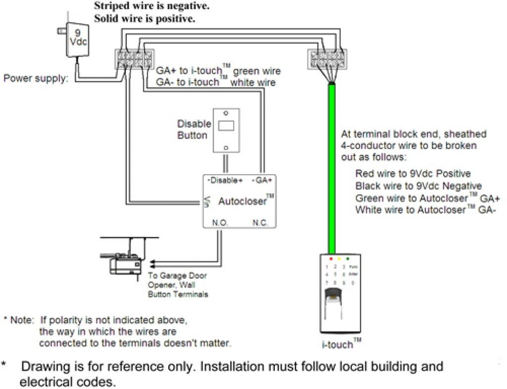 overhead door garage door safety sensor wiring [ 1024 x 786 Pixel ]