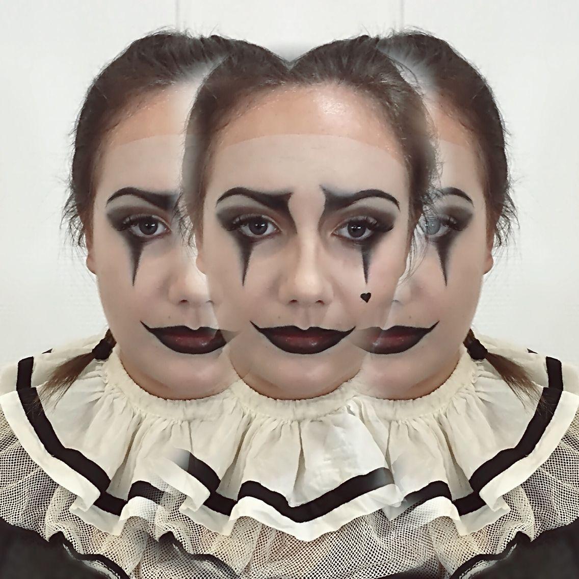 clown makeup by me