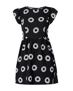 Madam Rage Black Daisy Print Dress | New Look