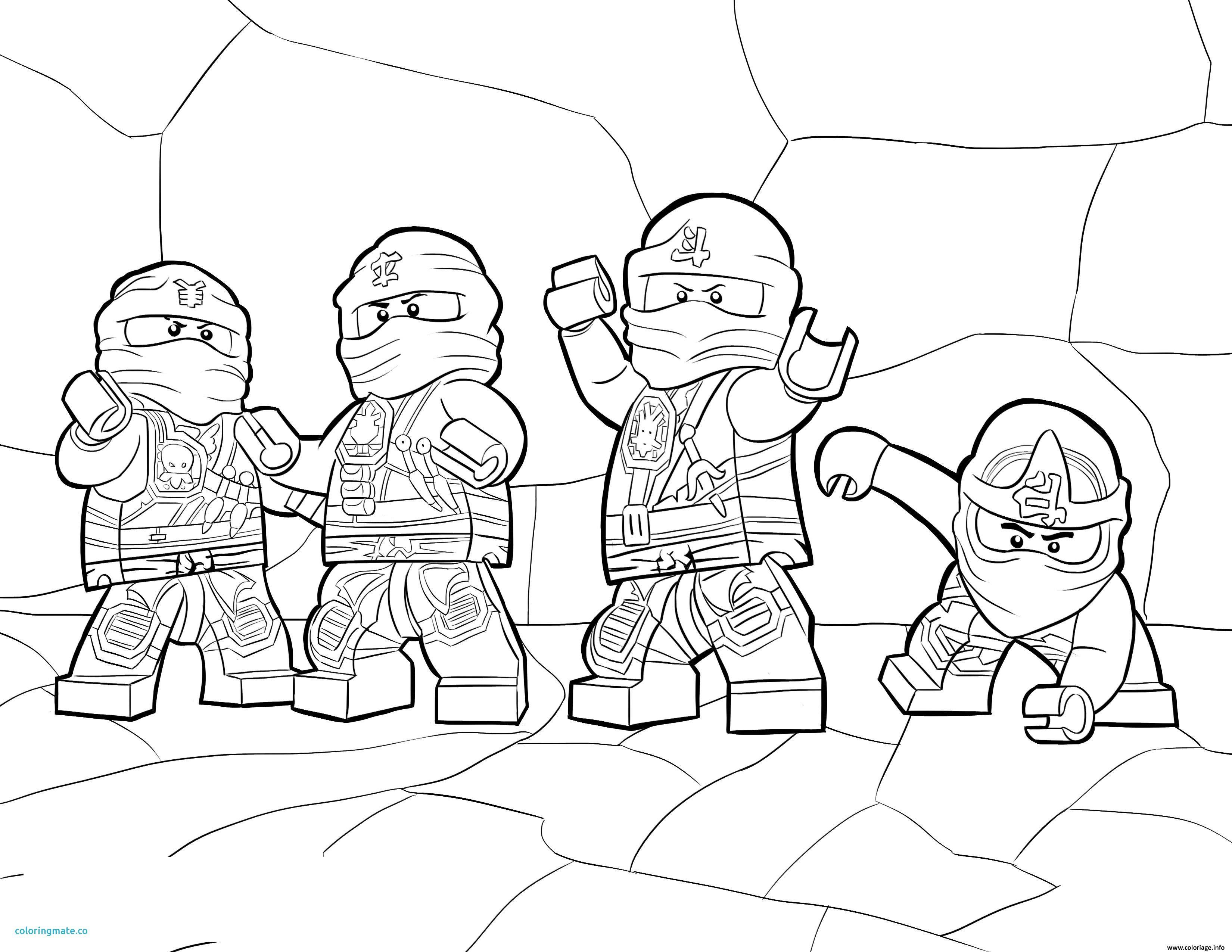 coloriage ninjago dessin a imprimer gratuit of coloriage ninjago ...